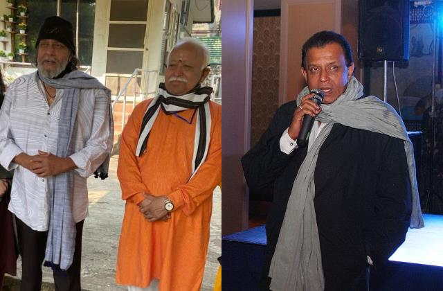 mohan bhagwat mithun chakraborty meeting raise temperature of bengal politics