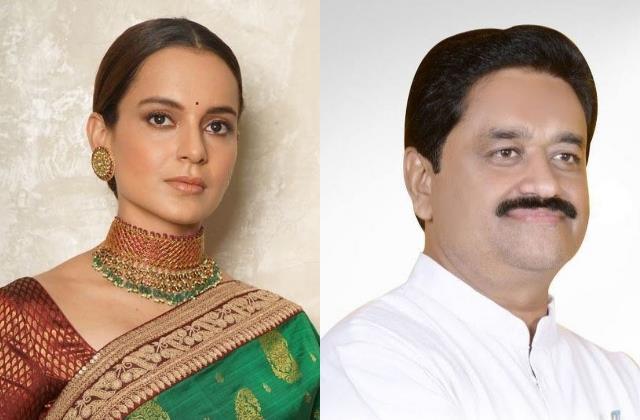 kangana reaction on minister sukhdev panse naachne gaane waali commnet