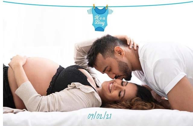 anita hassanandani rohit reddy blessed with baby boy