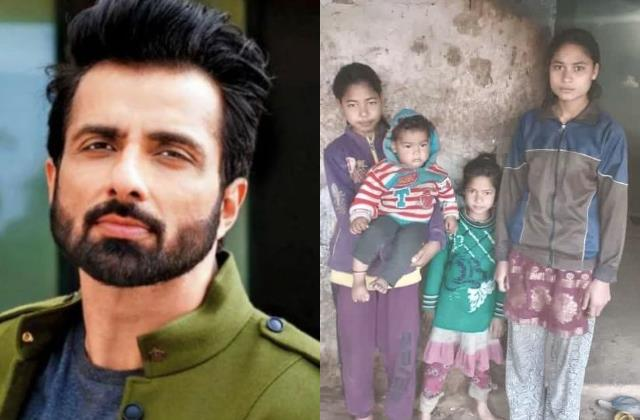 sonu sood adopt 4 girls who lost their father in uttarakhand glacier burst