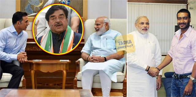 on celeb tweets backing govt shatrughan said they are under duress