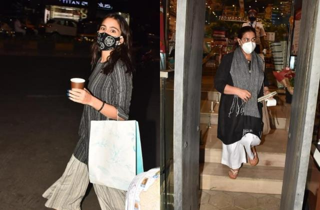 sara ali khan coffee shopping date with mommy amrita ahead of valentine day