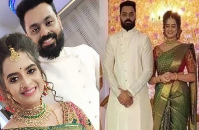 south actress rashmi jayaraj got married with richu