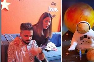 hina khan special birthday and valentine party for boyfriend rocky jaiswal