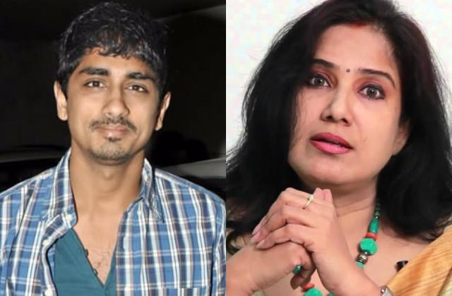 siddharth and bjp leader karuna gopal debate over disha ravi arrest