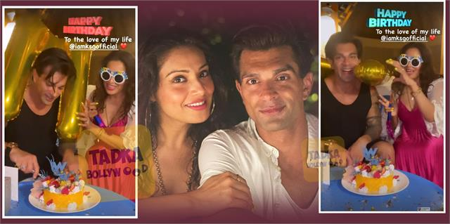 karan singh grover celebrate his birthday with wife bipasha basu in maldives
