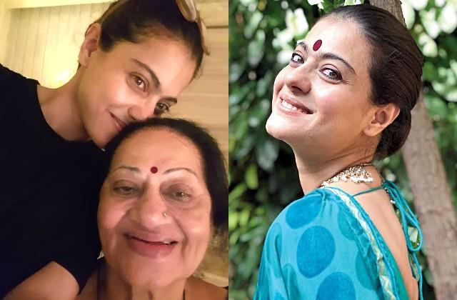 kajol wishes her mother in law on birthday