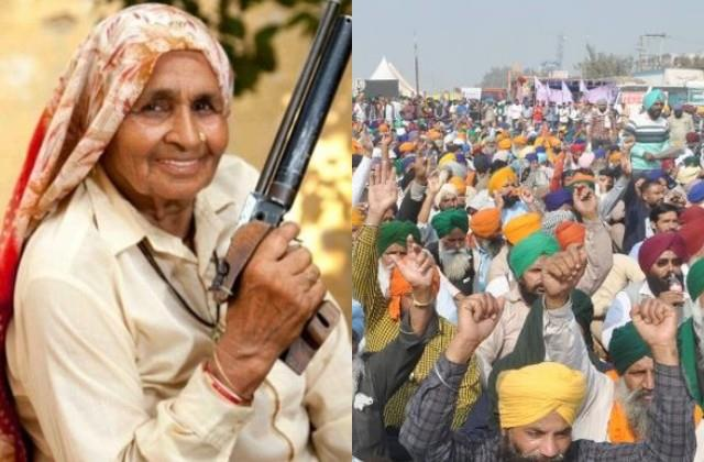 shooter dadi chandro tomar tweeted in support of farmers