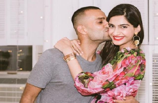 sonam kapoor share romantic photo with husband anand ahuja