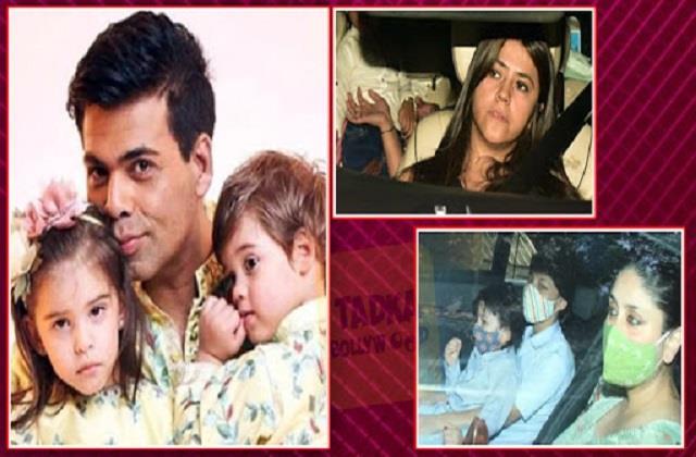 kareena to ekta kapoor reached karan johar kids yash and roohi birthday party