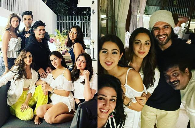 manish malhotra house party inside pictures viral