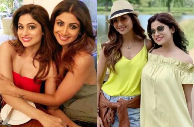 shilpa shetty shares post for sister shamita shetty on her birthday