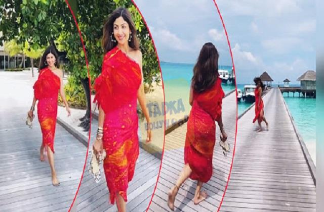 shilpa shetty shares her glamours video from maldives
