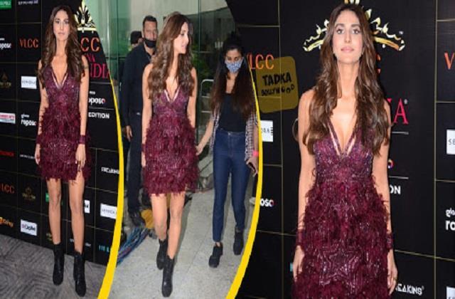 vaani kapoor spotted at femina miss india 2020 event