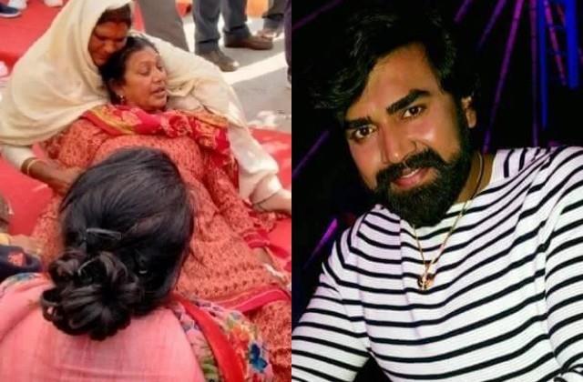 sandeep nahar mother broken after see her son dead body