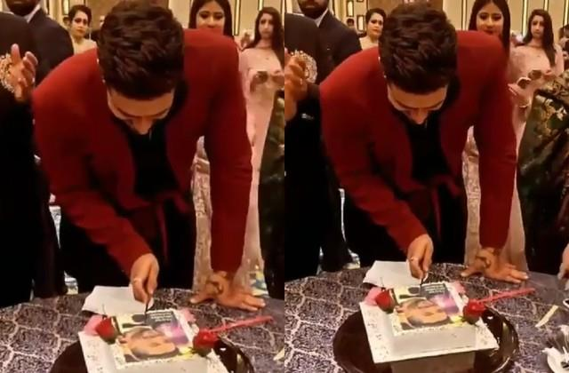 aly goni celebrates his birthday with family and jasmin bhasin in kashmir