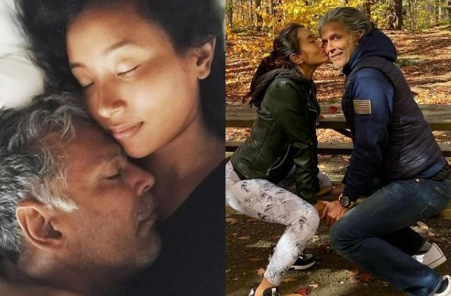 milind soman and ankita konwar celebrates their relationship anniversary