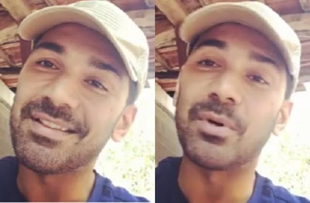 abhinav shulka shares first video after  bigg boss 14  exit