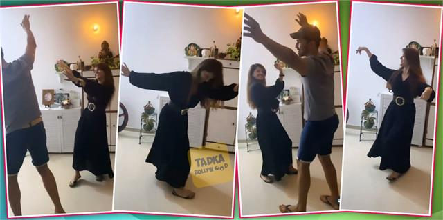 bigg boss 14 winner rubina dilaik nati dance with husband abhinav shukla
