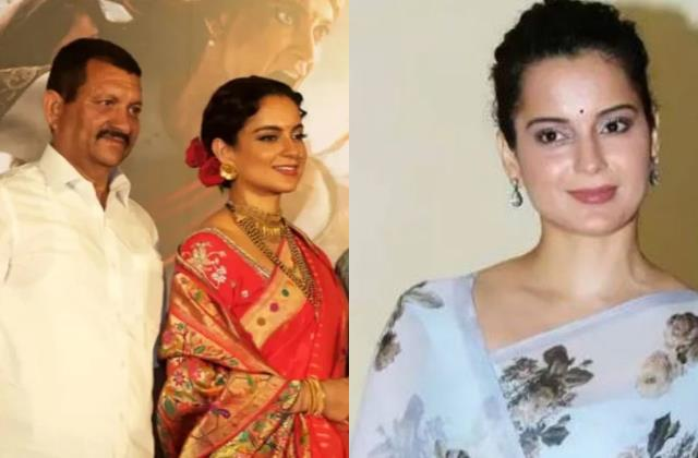 kangana ranaut tweet how she was upto slap back her father