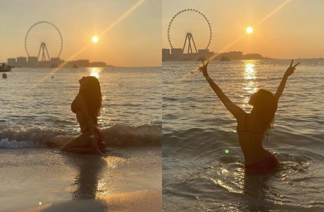 mouni roy bikini pictures raised the internet temperatures