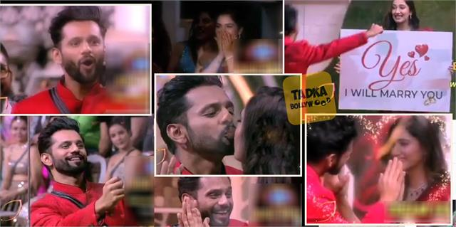 disha parmar enter in bigg boss 14 and said rahul vaidya i will marry you