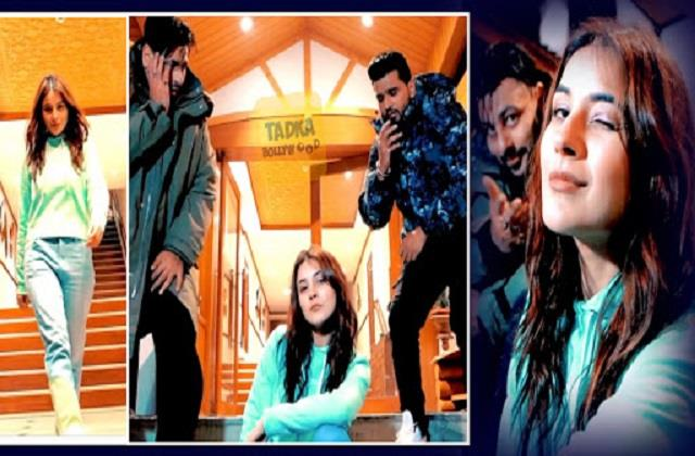 shehnaaz gill shares video with badshah and amit uchana
