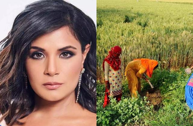 richa chadha share video women works in fields says why they cant protest