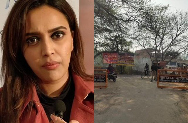 swara bhaskar blasts over up government on the unnao incident