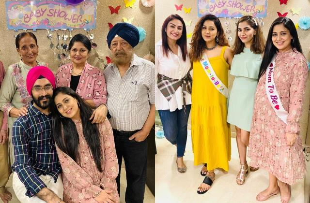 harshdeep kaur share glimpse of sweetest baby shower family and neeti mohan