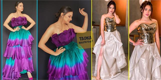 bigg boss fame mahira sharma himanshi khurana stunning photoshoot