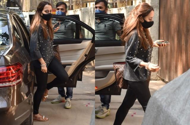 varun dhawan wife natasha dalal spotted in juhu