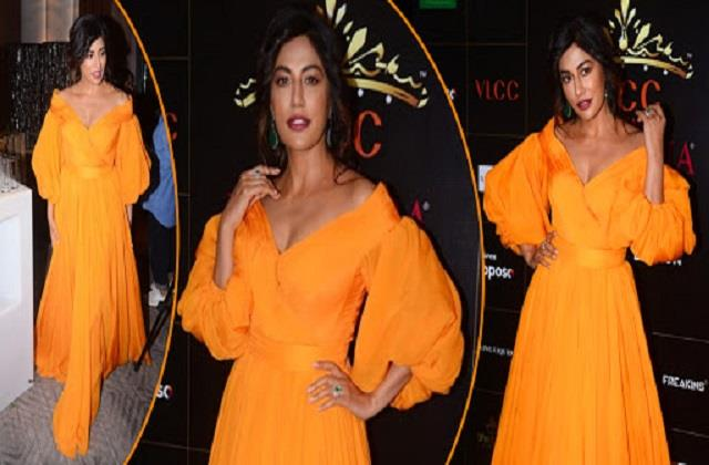 chitrangada singh looks gorgeous in yellow gown