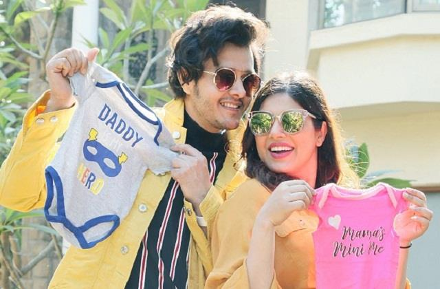 patiala babes fame anirudh dave and shubhi ahuja blessed with baby boy