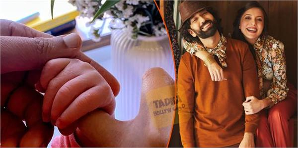 nakuul mehta and jankee parekh welcome baby boy actor share picture