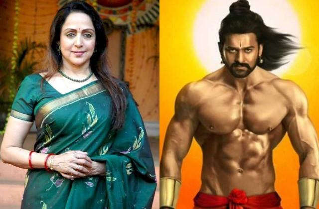 hema malini to play prabhass mother kaushalya role in film adipurush