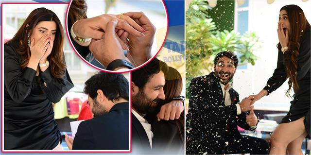 yeh hai mohabbatein shireen mirza gets engaged with boyfriend hasan sartaj