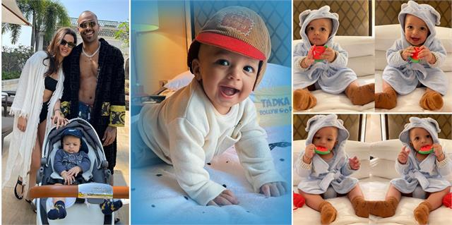 natasa stankovic hardik pandya son agastya cuteness overload in these pictures