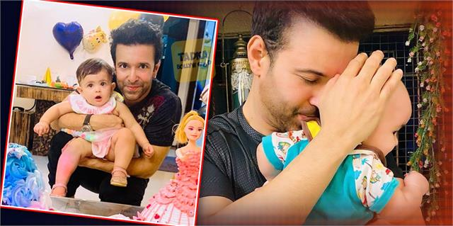 aamir ali shares first full picture of his daughter ayra ali