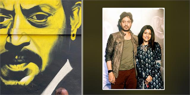 konkana shares heartfelt post after seeing painting of late actor irrfan khan