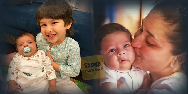 kareena kapoor khan taimur ali khan pictures viral with baby girl