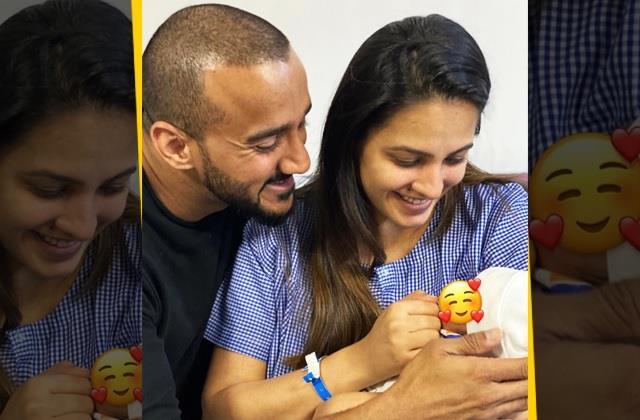 anita hassanandani share photo of her newborn baby