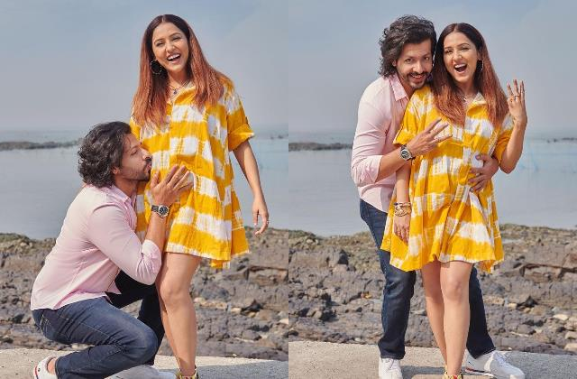 adorable photos neeti mohan announce her first pregnancy with nihaar pandya