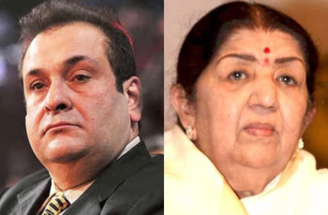 neetu kapoor lata mangeshkar tusshar kapoor pay tribute to rajeev kapoor