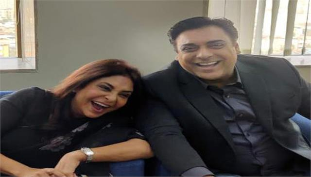 ram kapoor makes a funny video of shefali shah on the set of human