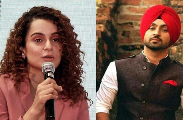 diljit dosanjh reaction on kangana ranaut khalistan word