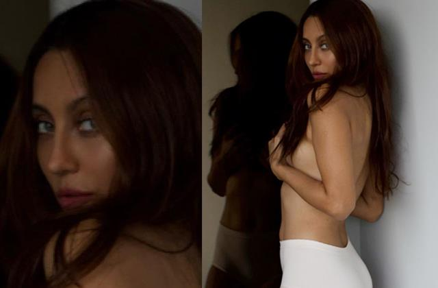 anusha dandekar shares her topless photo