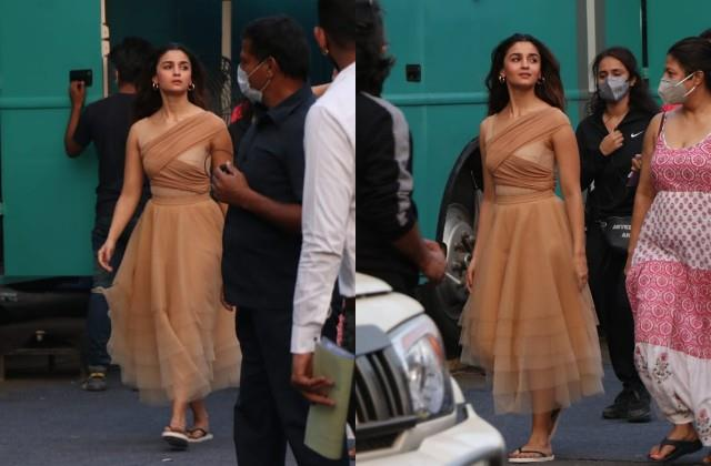 alia bhatt photos viral from the shooting set