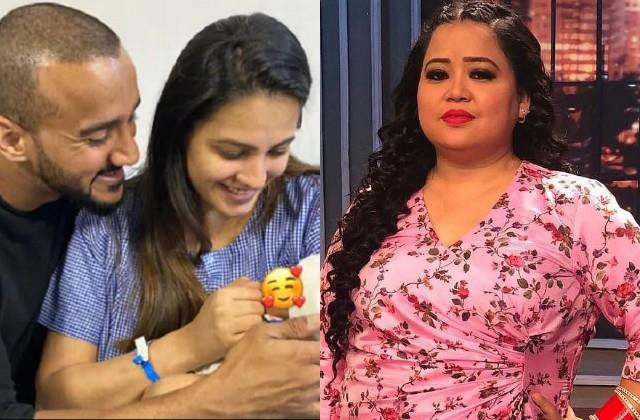 bharti singh reveals anita hassanandani and rohit shetty son name