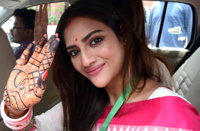 actress mp nusrat jahan said muslim start countdown if bjp comes in bengal